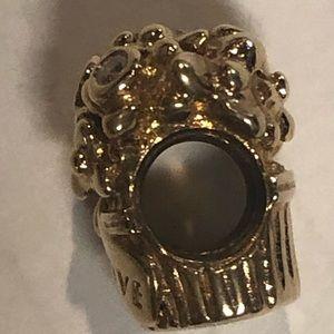 Pandora 14k gold charm